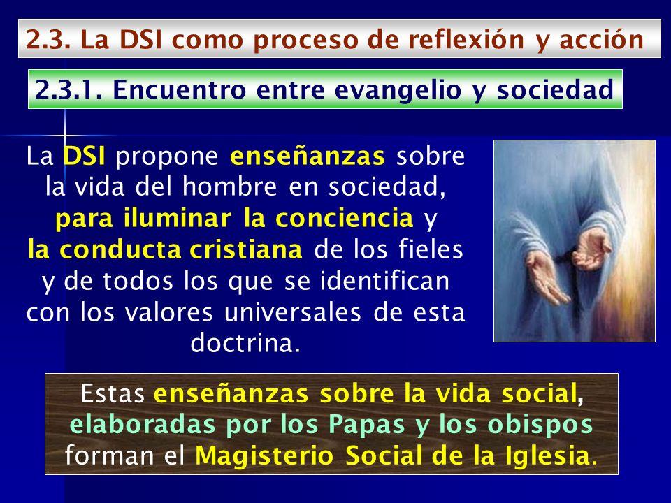 2.3. La DSI como proceso de reflexión y acción