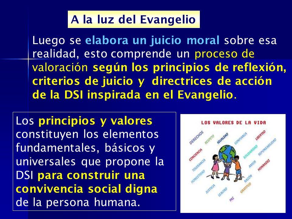 A la luz del Evangelio