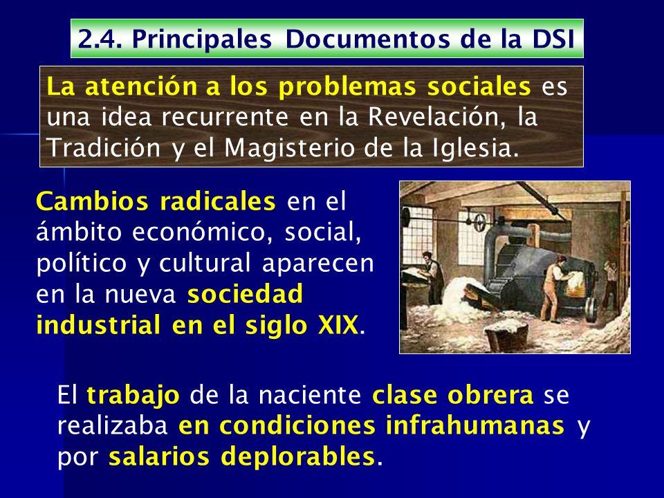 2.4. Principales Documentos de la DSI