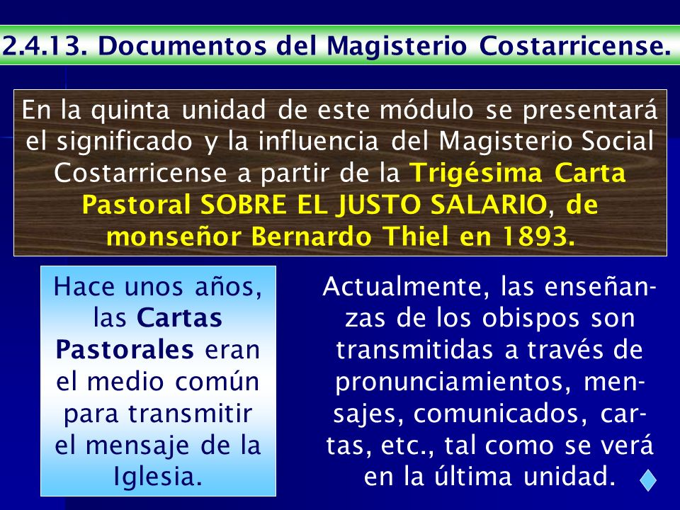 Documentos del Magisterio Costarricense.