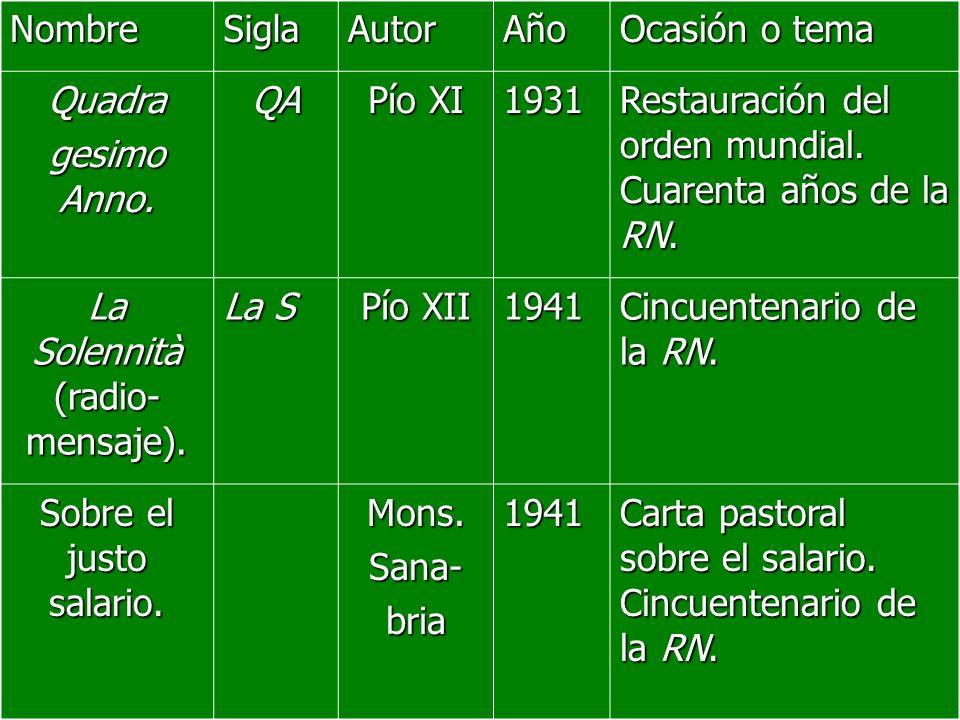 La Solennità (radio-mensaje).