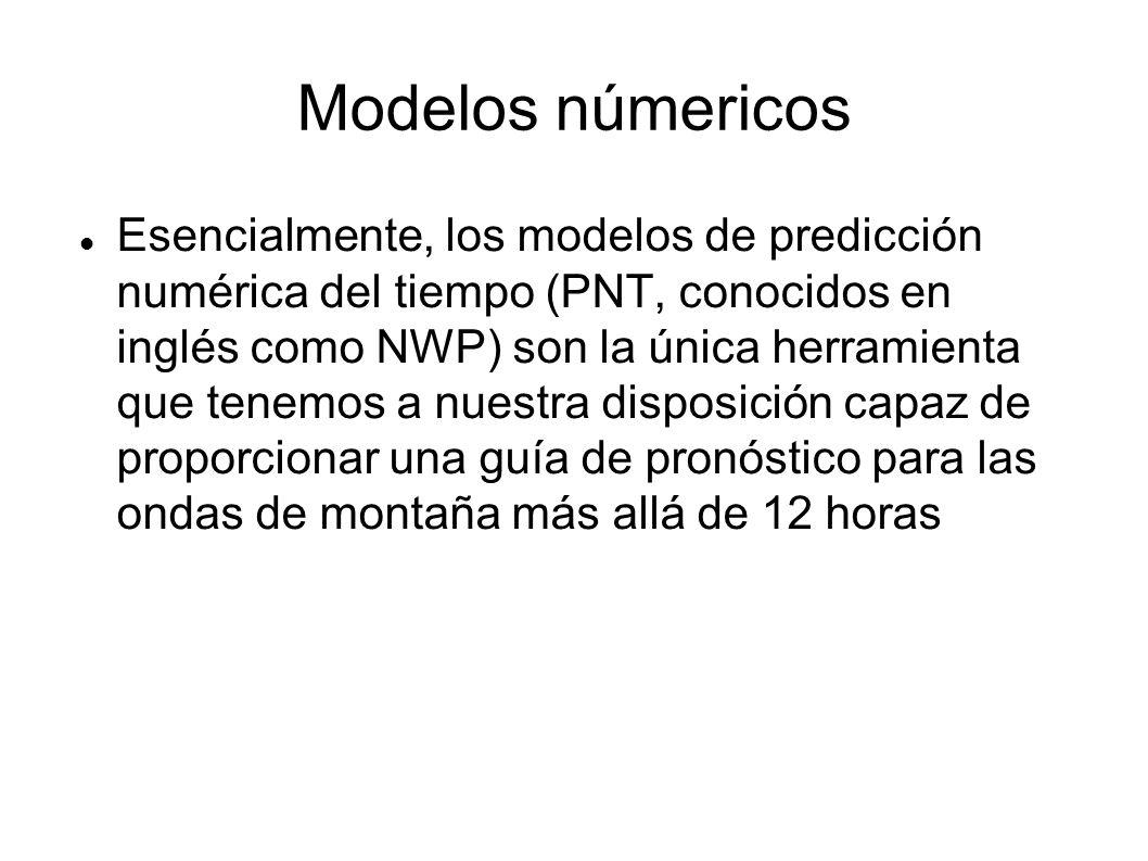 Modelos númericos
