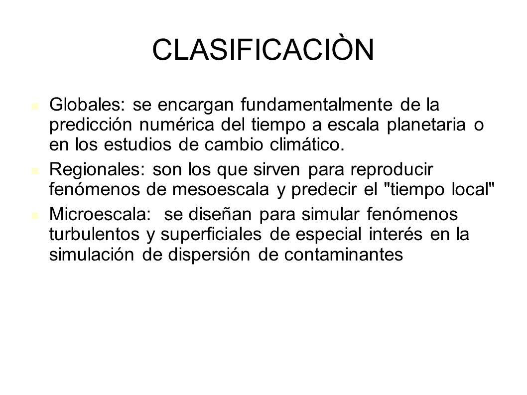 CLASIFICACIÒN