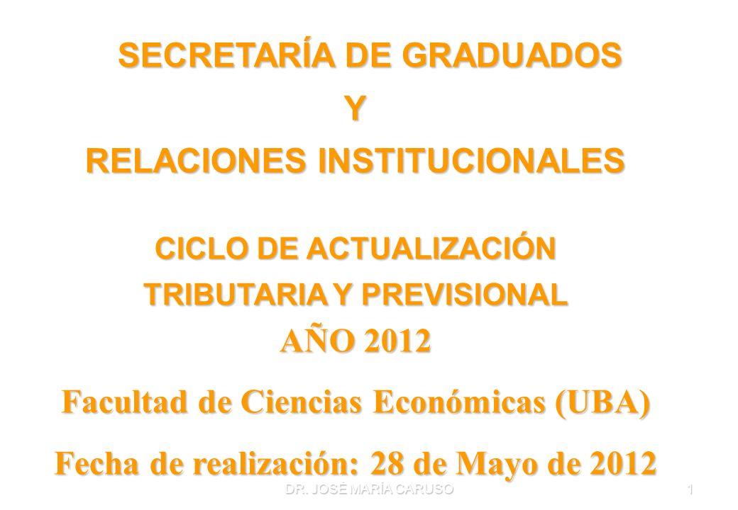 SECRETARÍA DE GRADUADOS Y RELACIONES INSTITUCIONALES