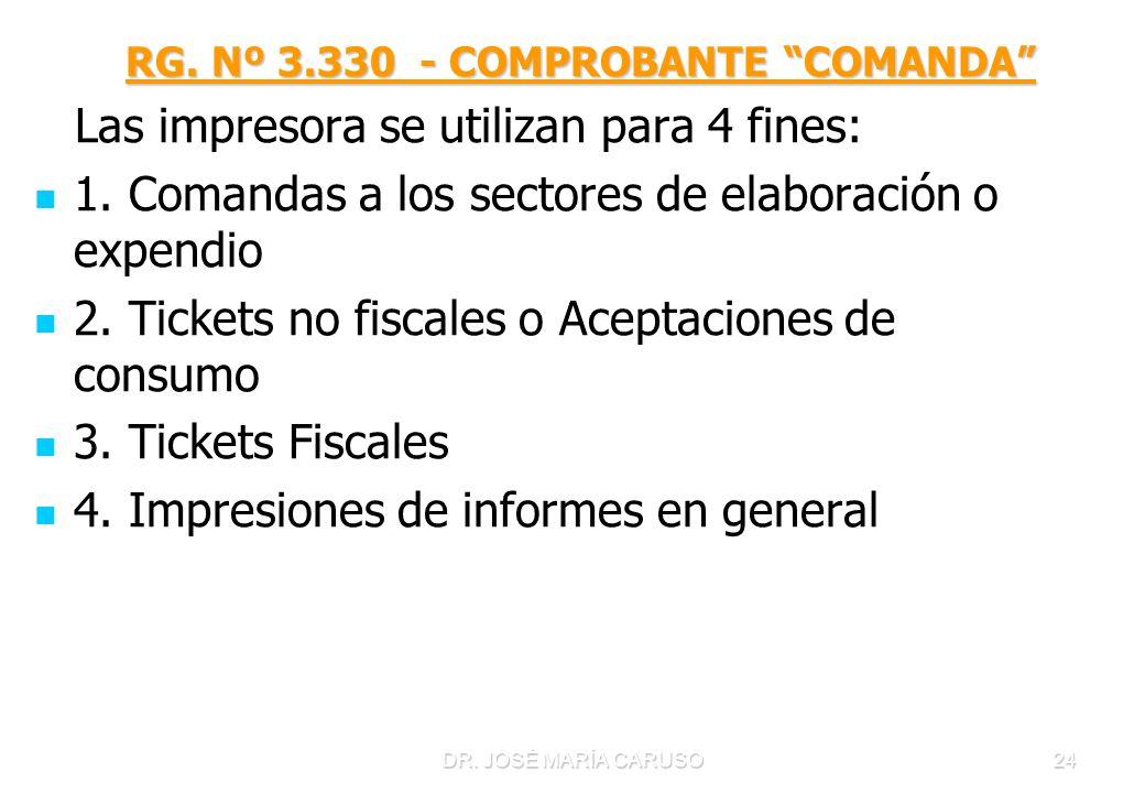 RG. Nº 3.330 - COMPROBANTE COMANDA