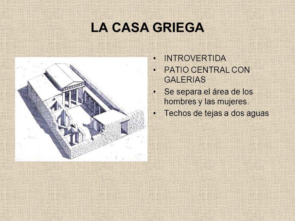 Arquitectura griega siglos vii al iv a c ppt descargar Como eran las casas griegas