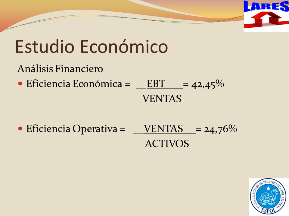 Estudio Económico LARES Análisis Financiero