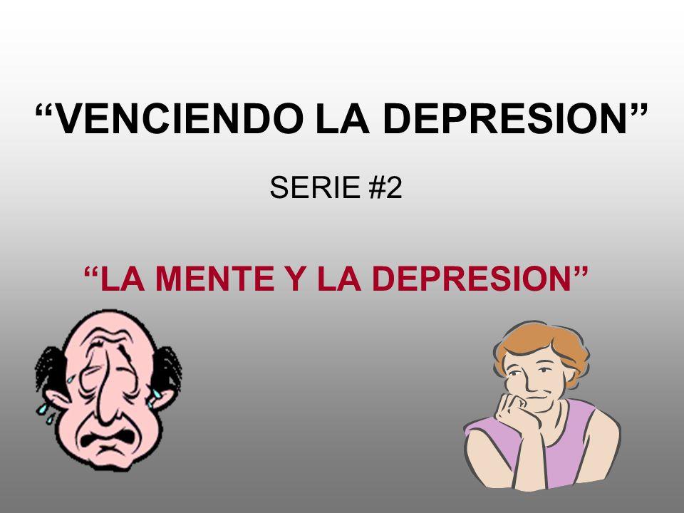 VENCIENDO LA DEPRESION
