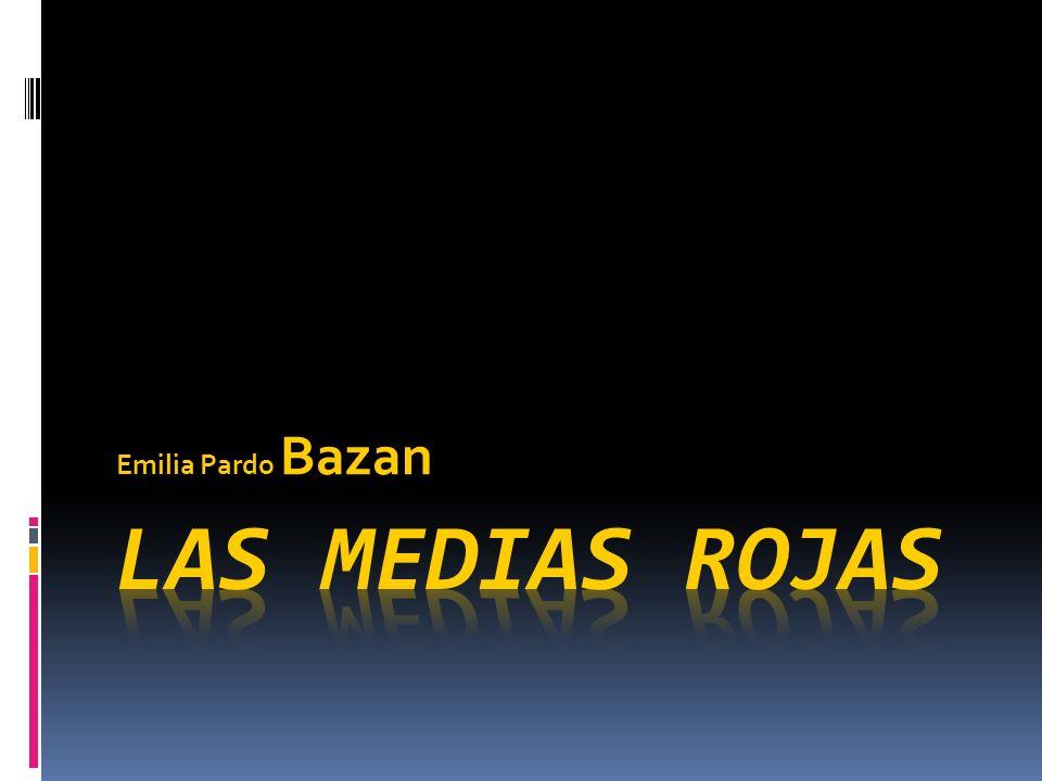 Emilia Pardo Bazan Las medias rojas
