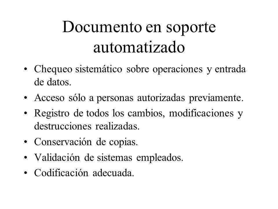 Documento en soporte automatizado