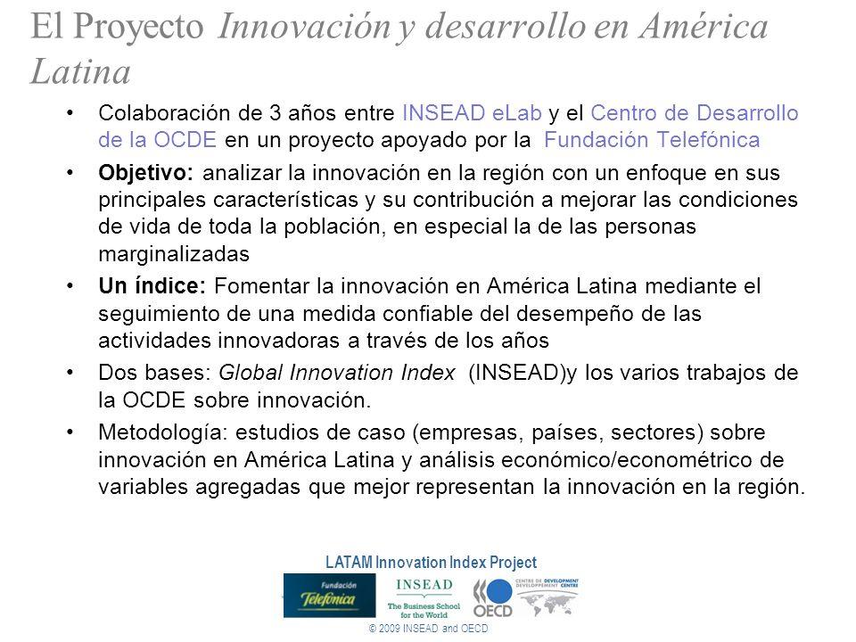 El Proyecto Innovación y desarrollo en América Latina