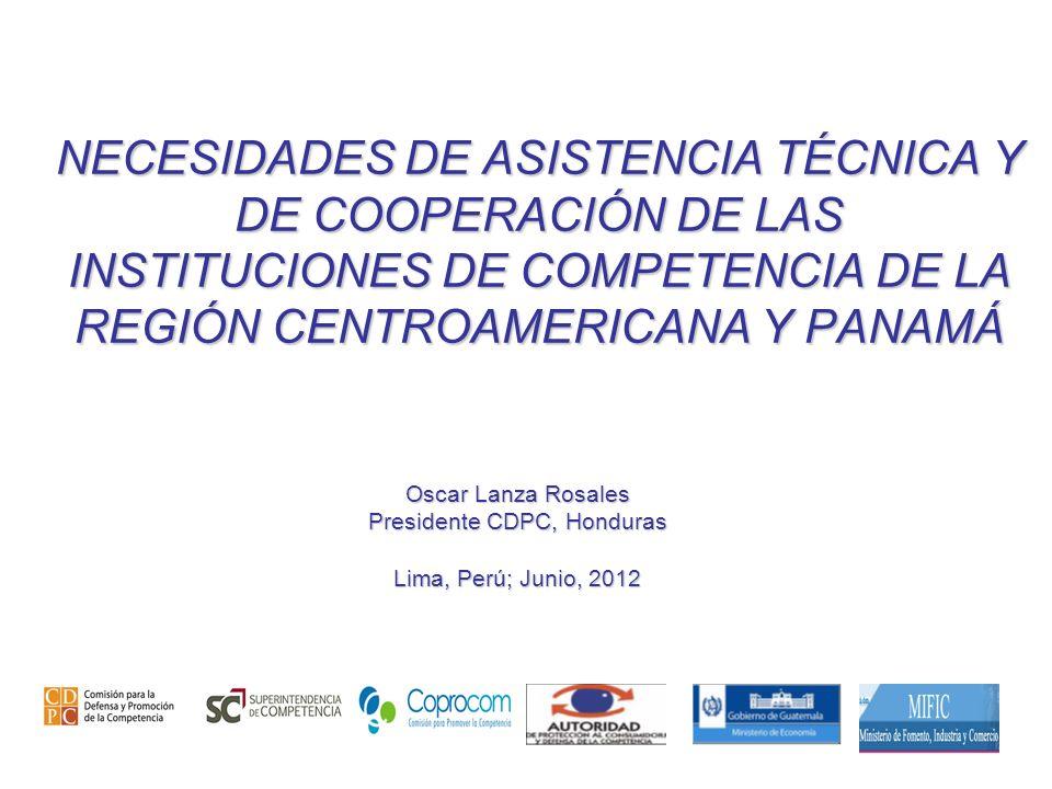 Presidente CDPC, Honduras