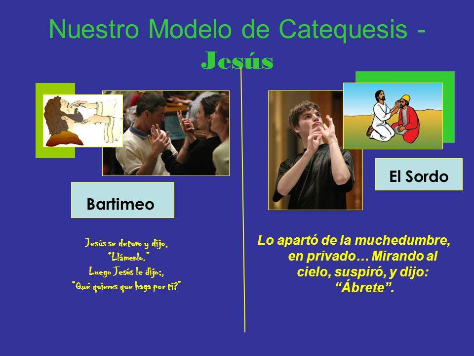 Nuestro Modelo de Catequesis - Jesús