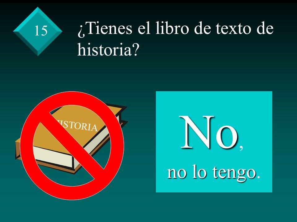 ¿Tienes el libro de texto de historia