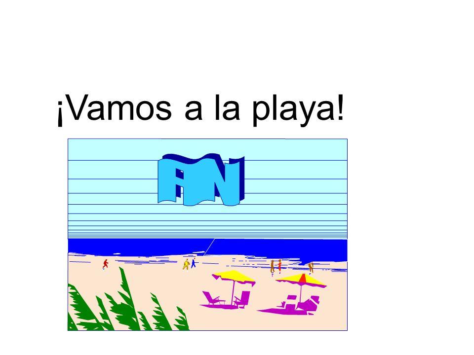 ¡Vamos a la playa! FIN