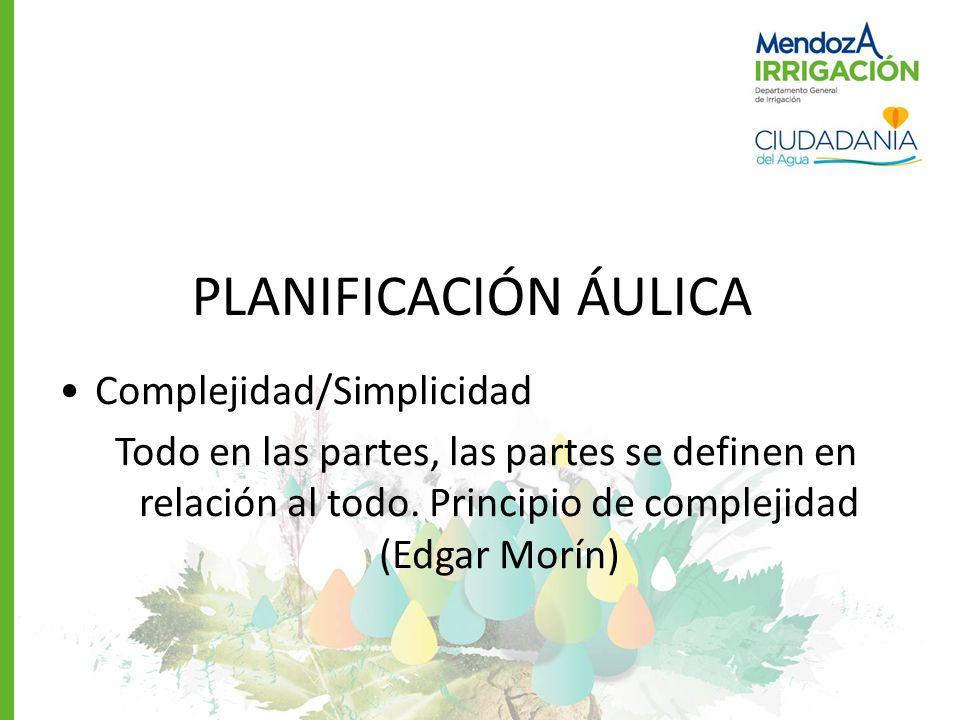 PLANIFICACIÓN ÁULICA Complejidad/Simplicidad