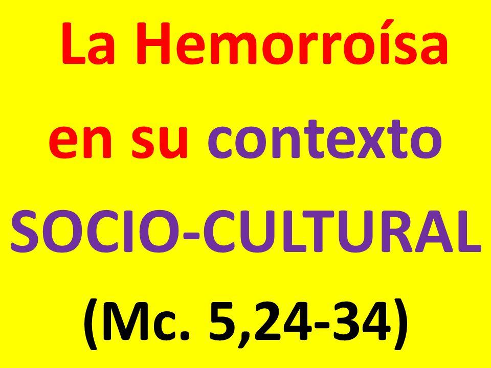 en su contexto SOCIO-CULTURAL