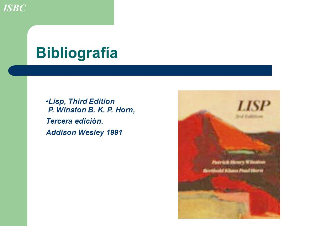 Lisp Winston Horn Pdf