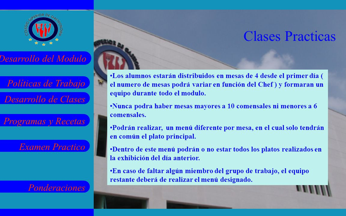 Clases Practicas
