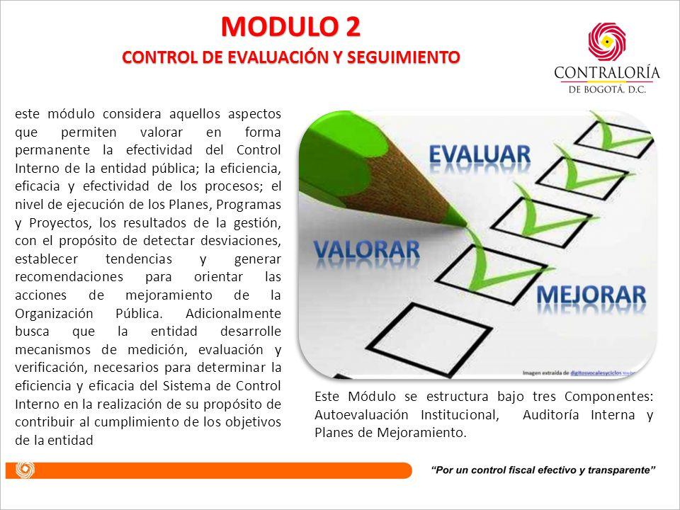 CONTROL DE EVALUACIÓN Y SEGUIMIENTO