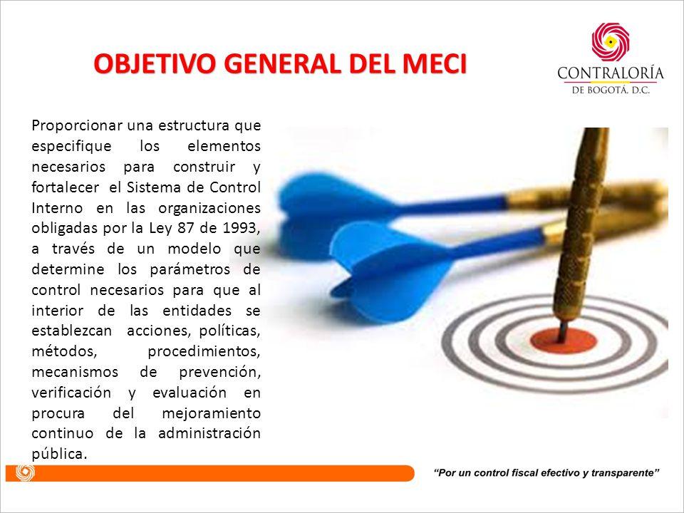 OBJETIVO GENERAL DEL MECI