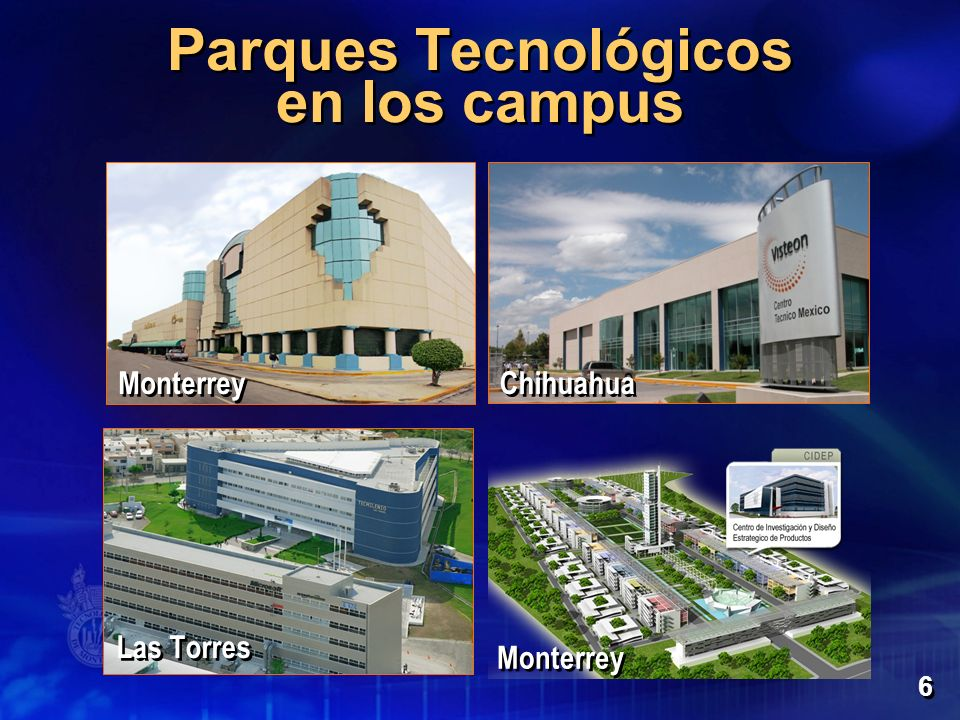 Parques Tecnológicos en los campus