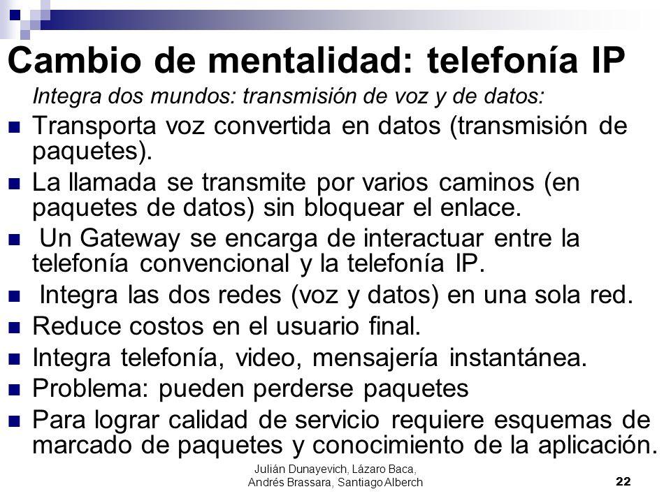 Cambio de mentalidad: telefonía IP