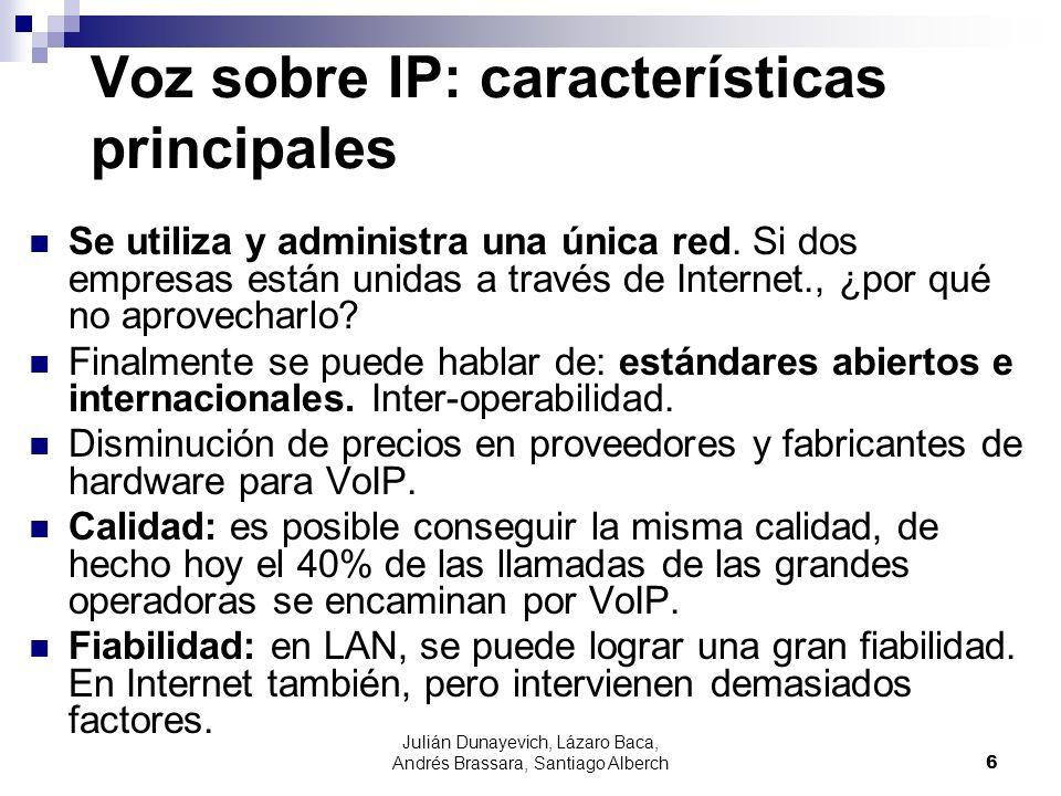 Voz sobre IP: características principales