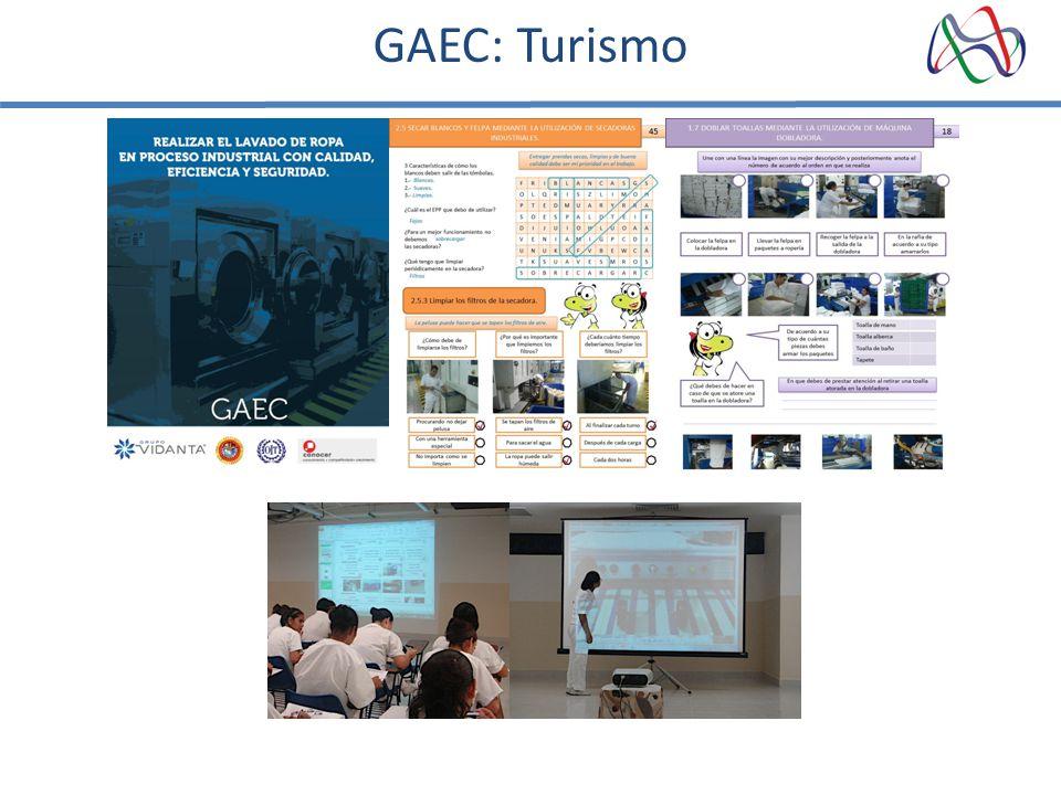 GAEC: Turismo