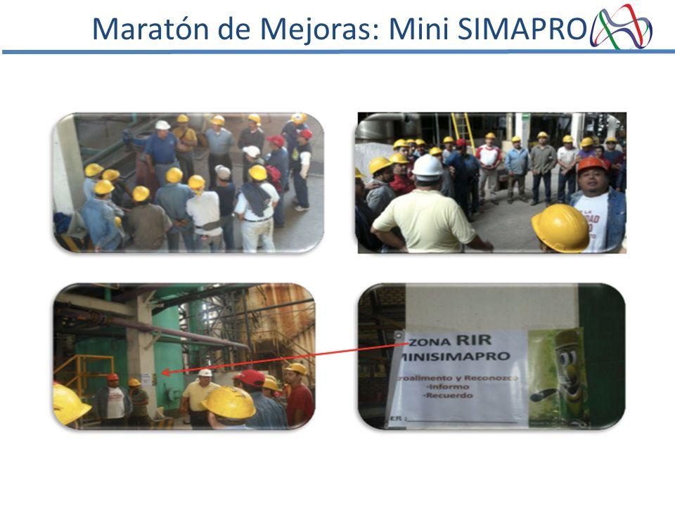 Maratón de Mejoras: Mini SIMAPRO