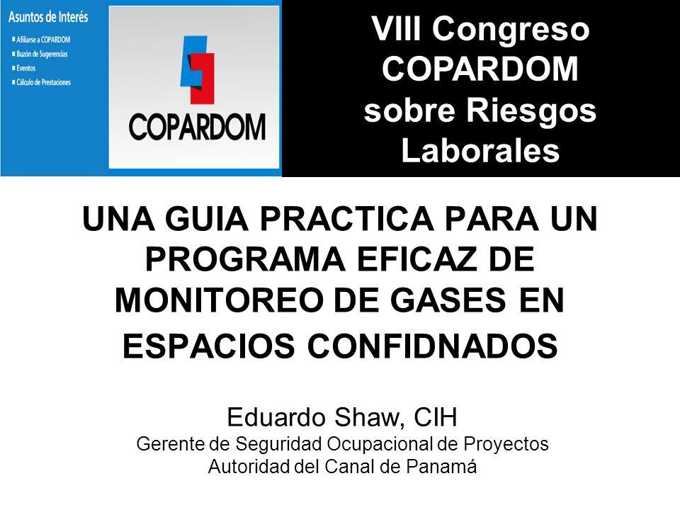 VIII Congreso COPARDOM sobre Riesgos Laborales
