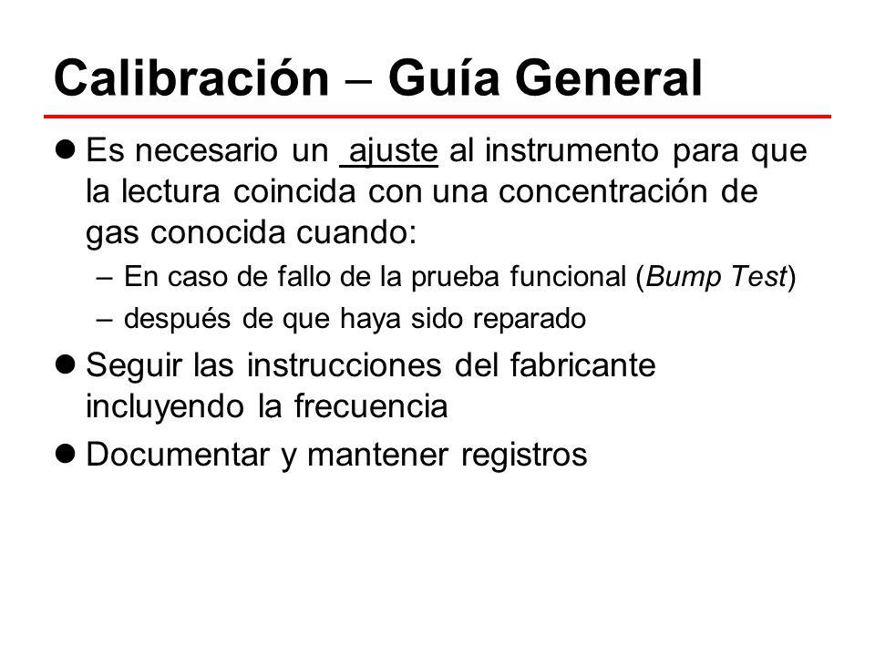 Calibración  Guía General
