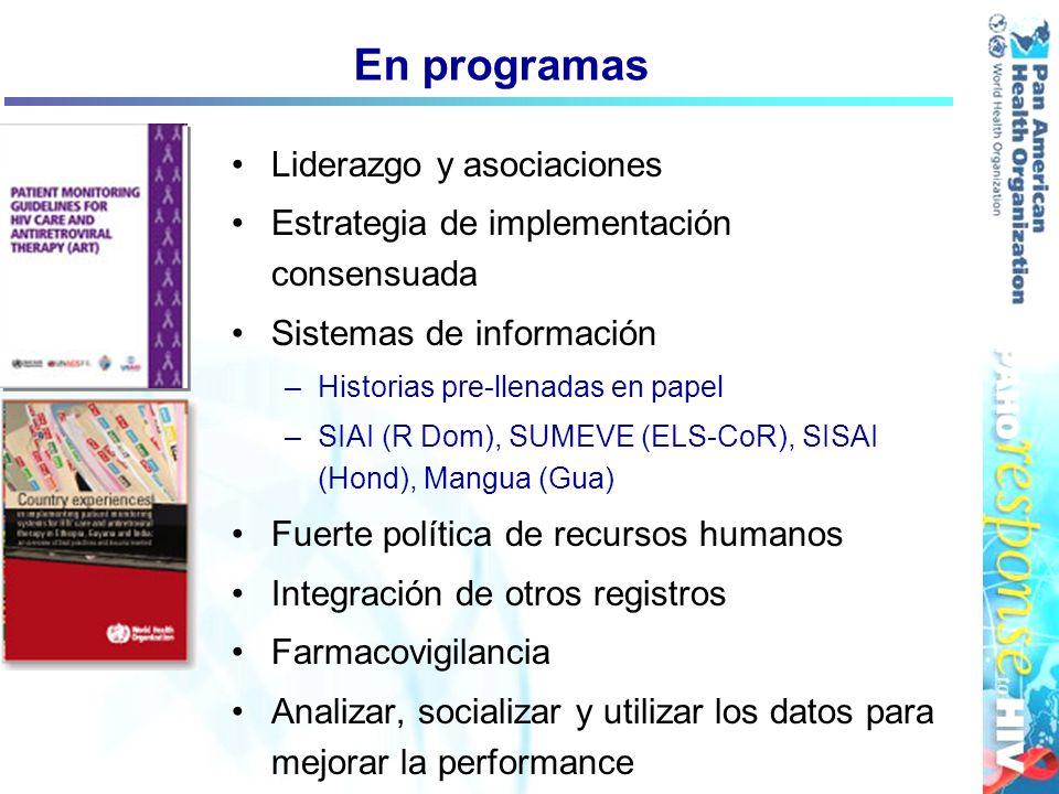 En programas Liderazgo y asociaciones