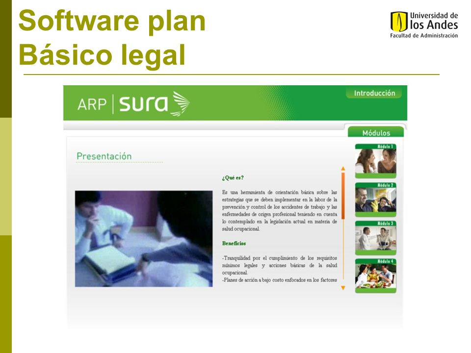 Software plan Básico legal