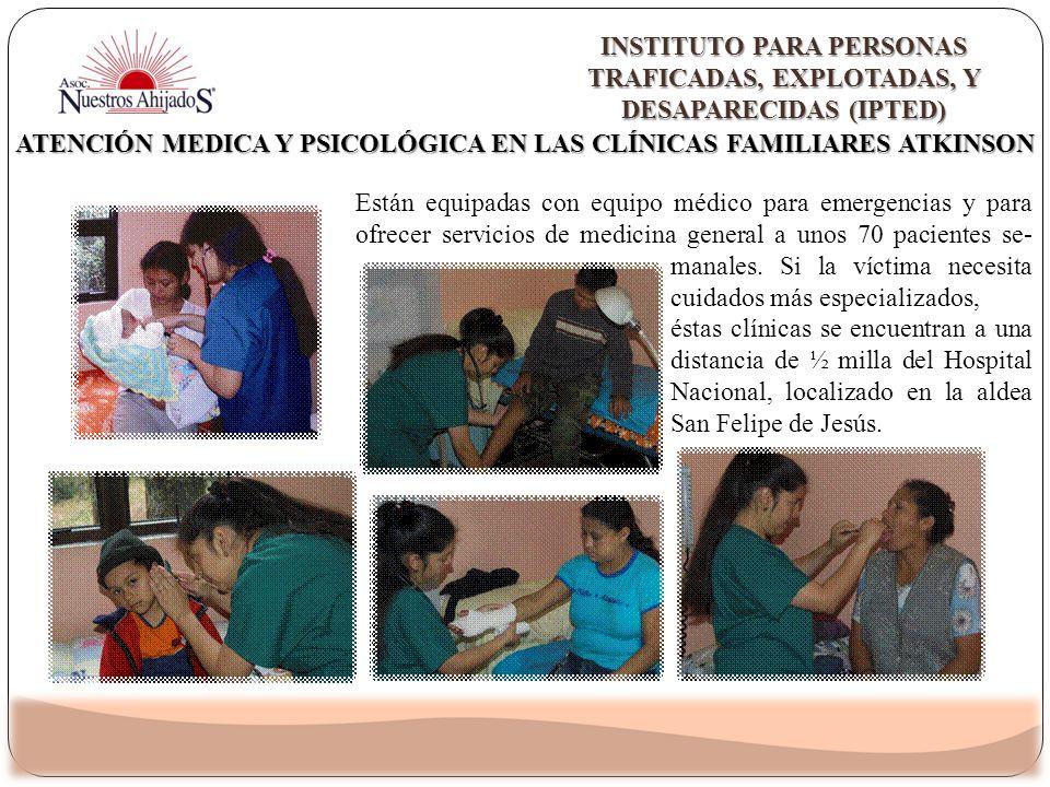 Atención Medica Y Psicológica En Las Clínicas Familiares Atkinson