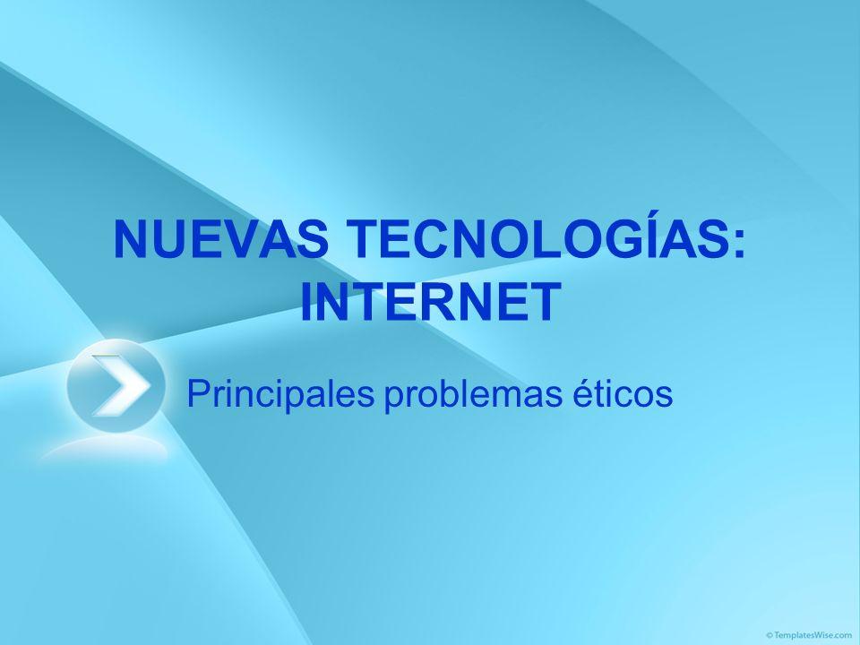 NUEVAS TECNOLOGÍAS: INTERNET