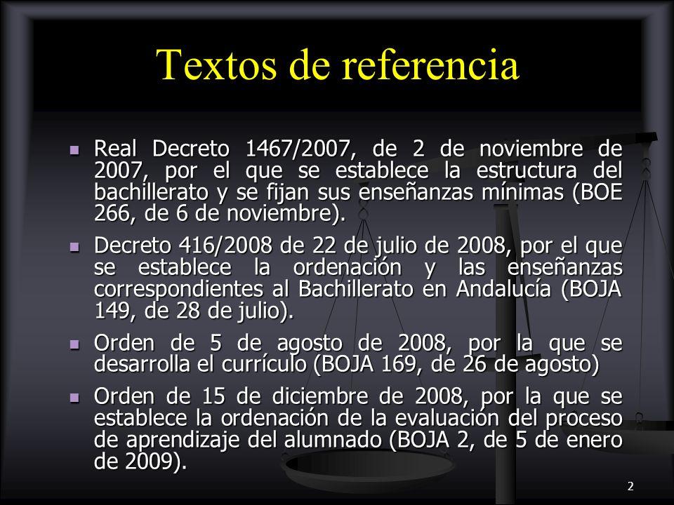 Textos de referencia