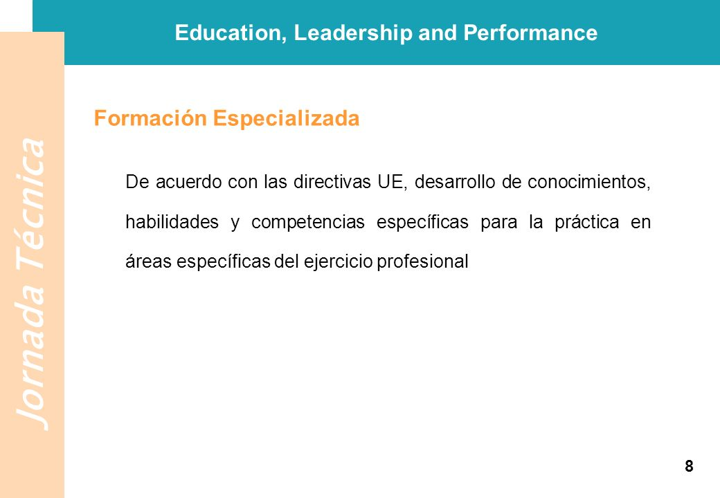 Education, Leadership and Performance