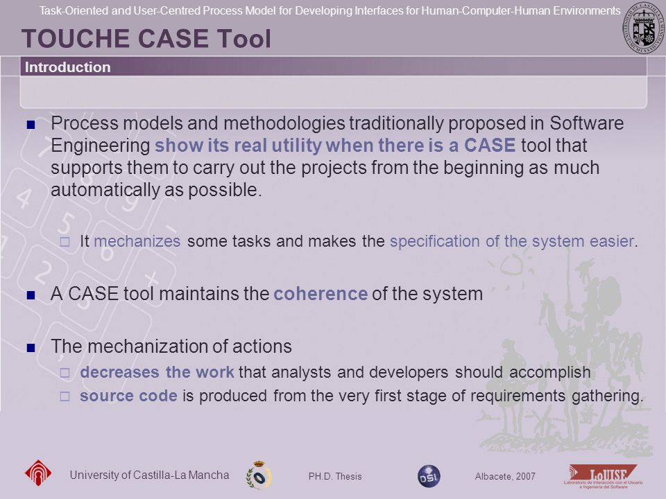 TOUCHE CASE Tool Introduction.