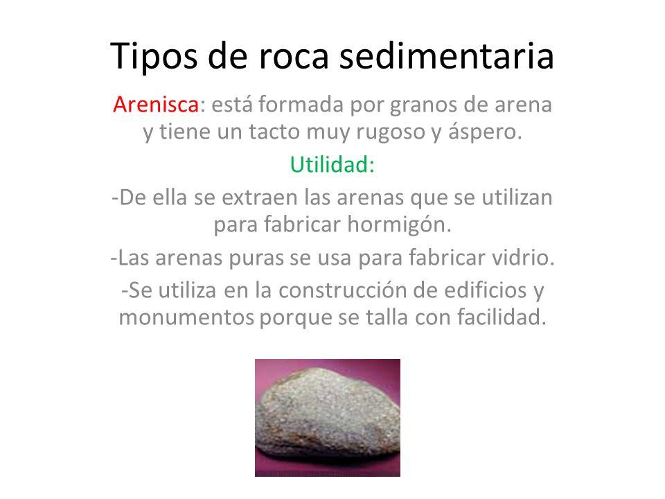Rocas sedimentarias los sedimentos procedentes de la for De donde es la roca
