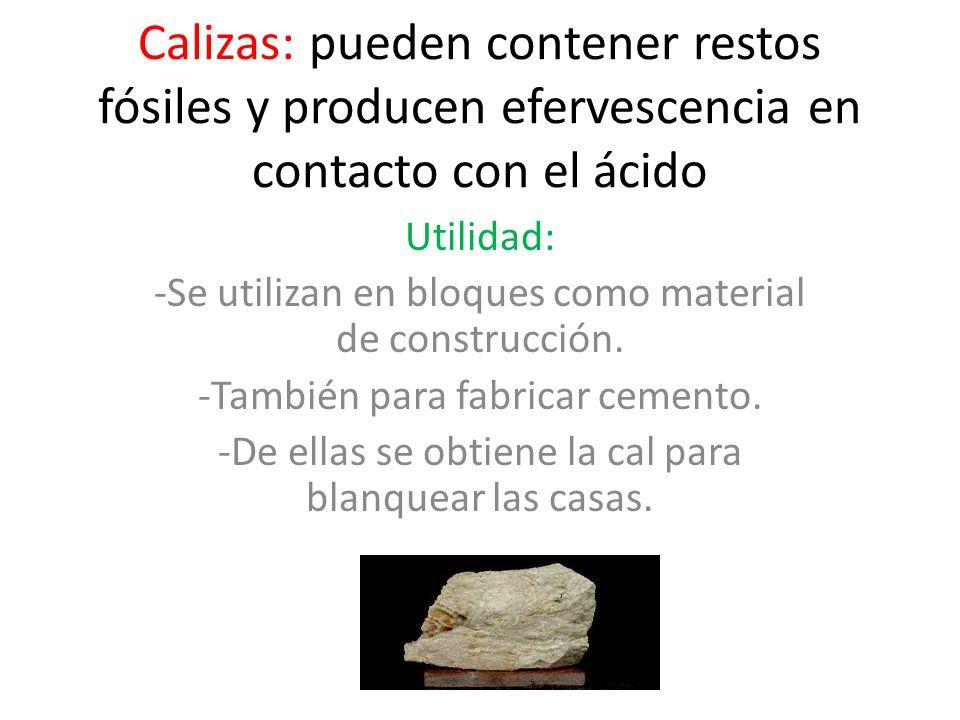Rocas sedimentarias los sedimentos procedentes de la erosi n de las distintas rocas que se - Utilidades del yeso ...