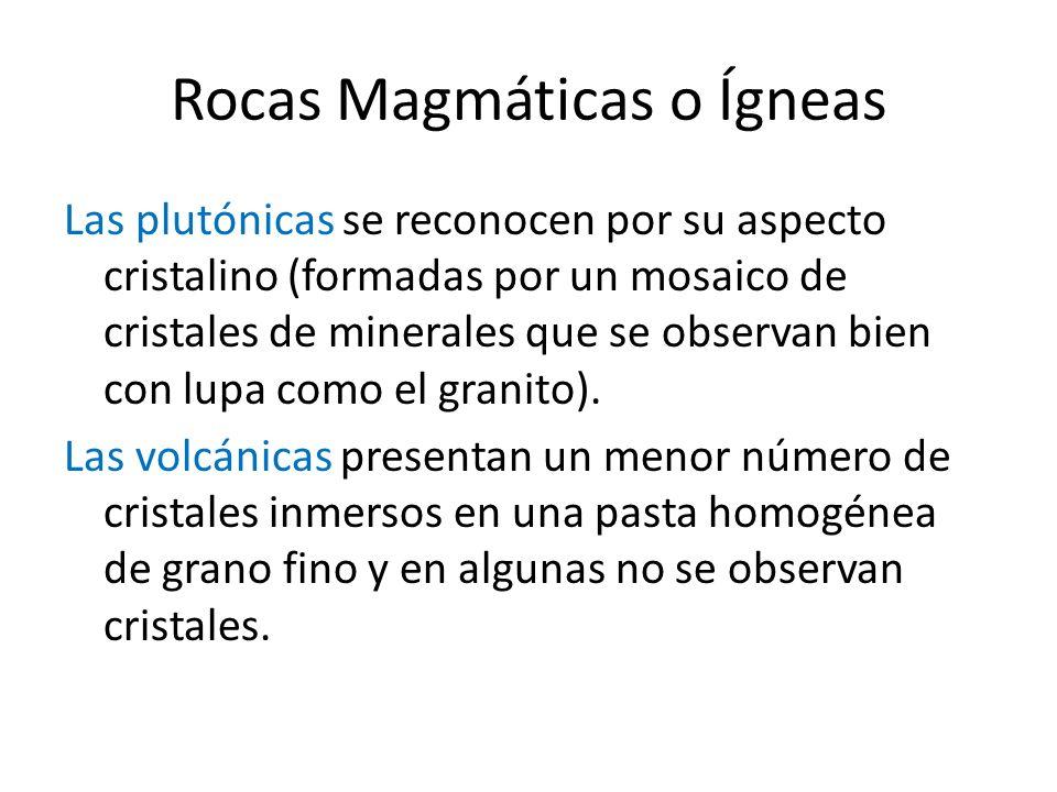 Rocas Magmáticas o Ígneas