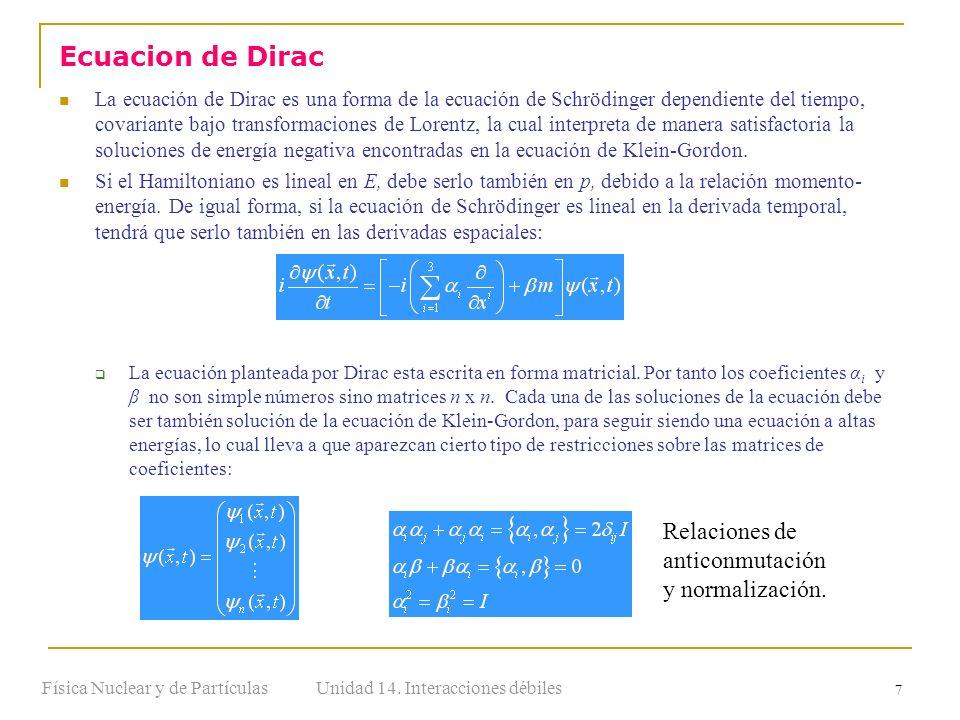 Física Nuclear y de Partículas