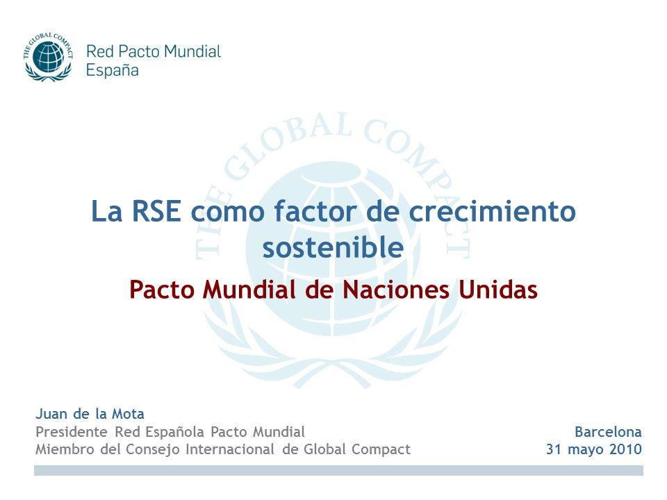 La RSE como factor de crecimiento sostenible