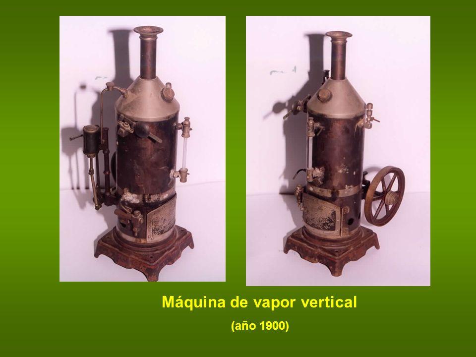 Máquina de vapor vertical