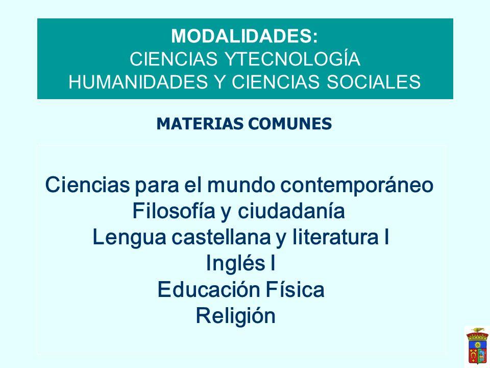 Inglés I Educación Física Religión