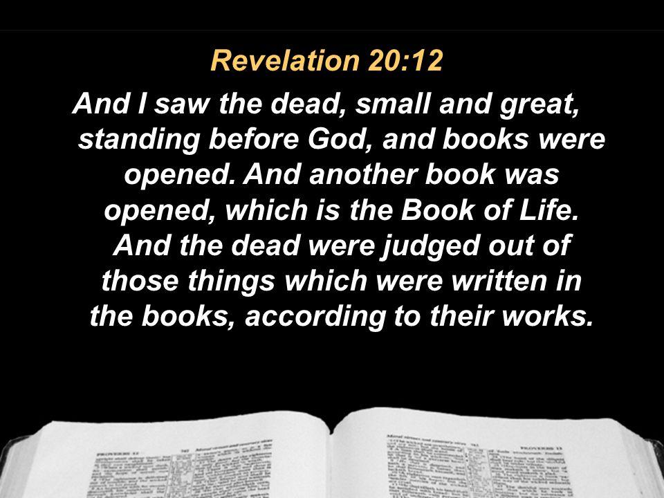 Revelation 20:12