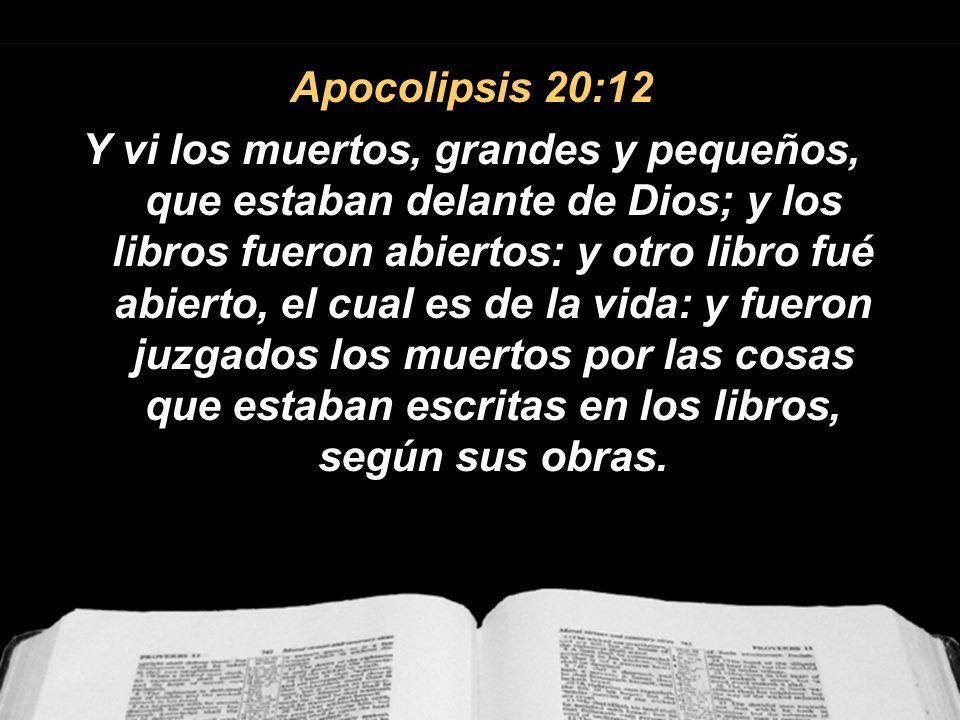 Apocolipsis 20:12