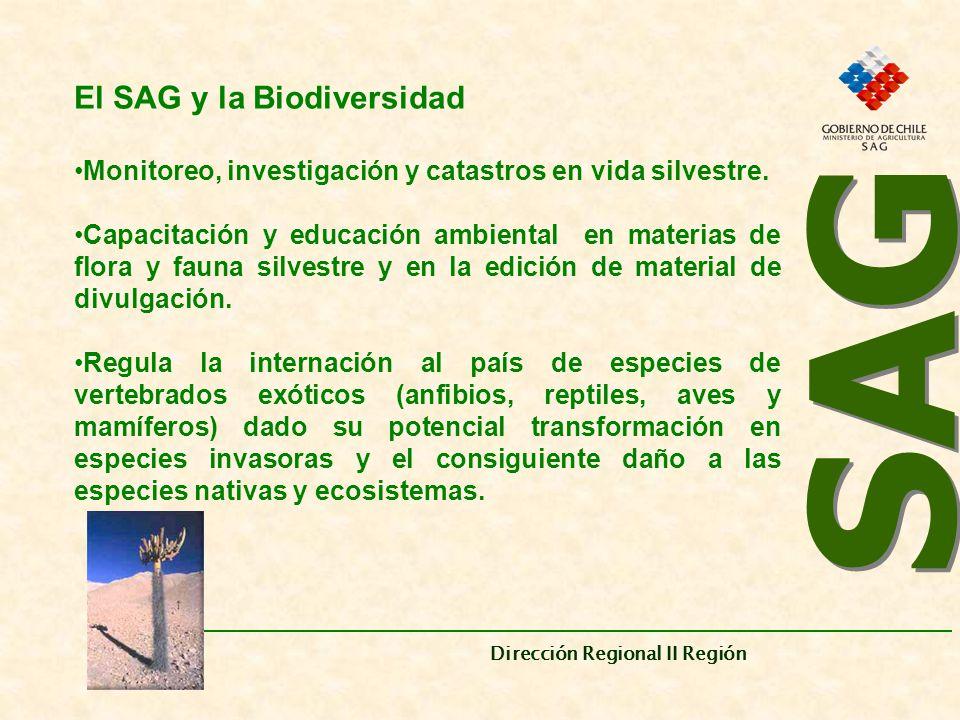SAG El SAG y la Biodiversidad