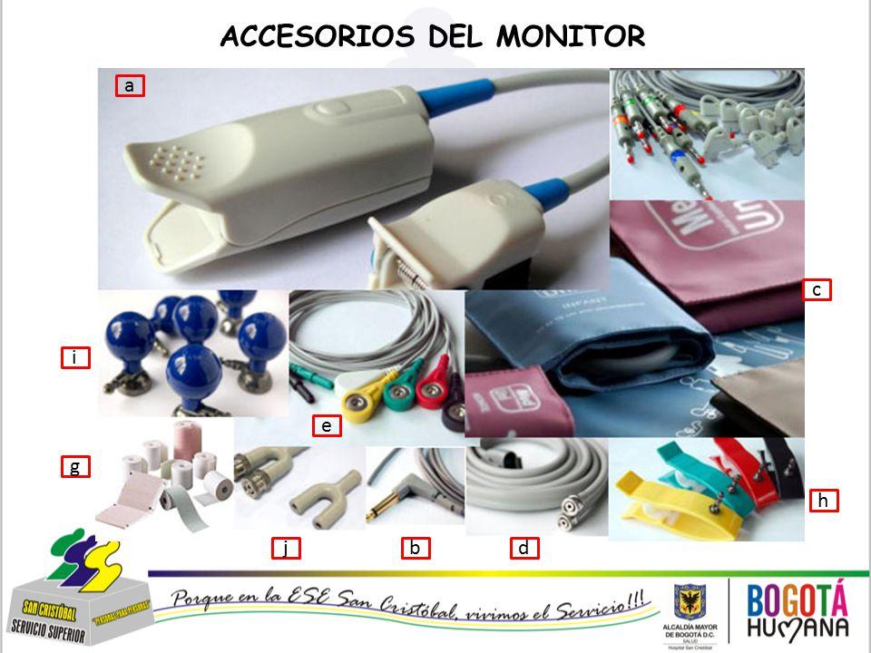 ACCESORIOS DEL MONITOR